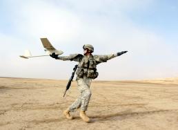 Raven drone