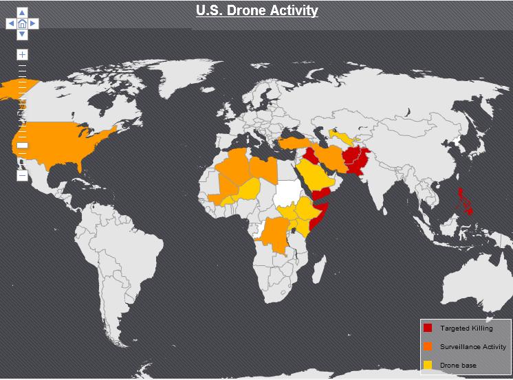 Visualizing drone strikes in Pakistan Understanding Empire