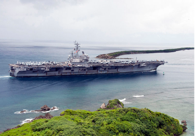 USS Ronald Reagan visits Apra Habor, Guam