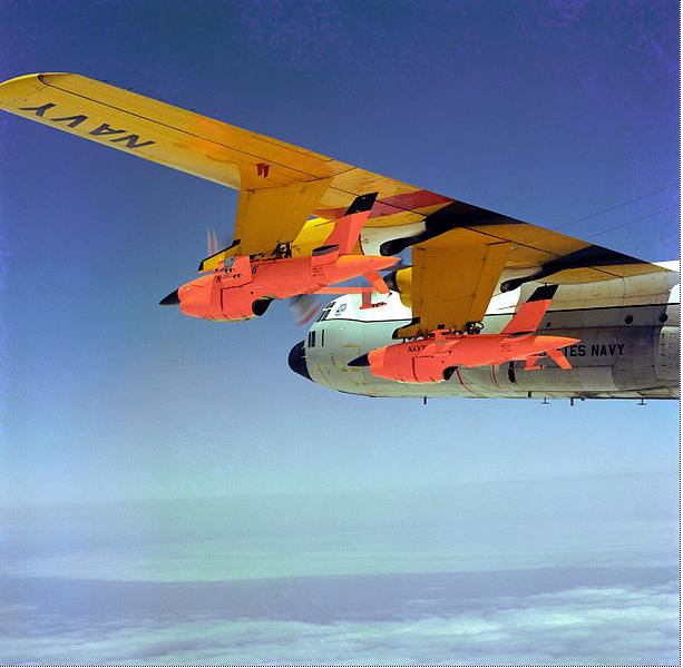 DC-130 Carrying Ryan Firebees