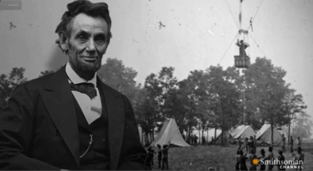 Abe Lincoln, balloon