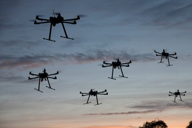 UAVs Used For Surveillance