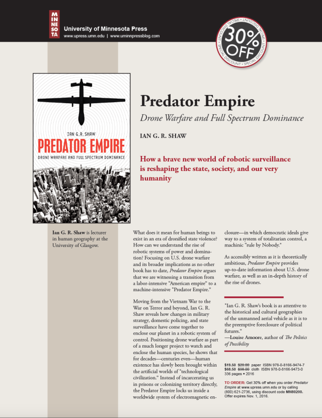 Predator Empire Flyer